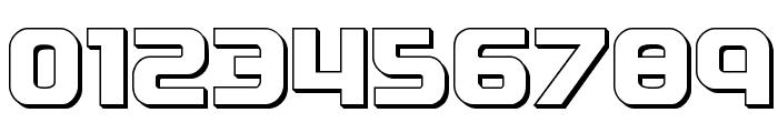 Soldier 3D Regular Font OTHER CHARS
