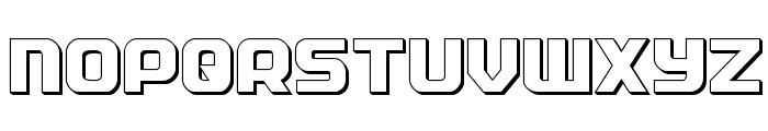 Soldier 3D Regular Font UPPERCASE
