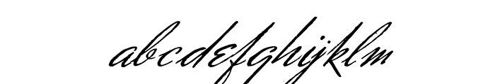 Soldier William Holmes Regular Font LOWERCASE