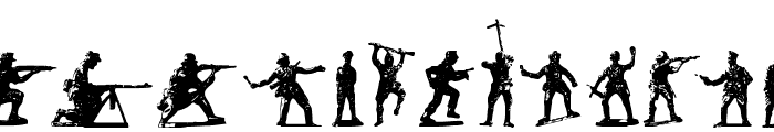 Soldiers of Hell Font LOWERCASE