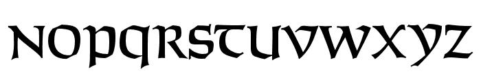 SolemnisCapsOpti Font UPPERCASE