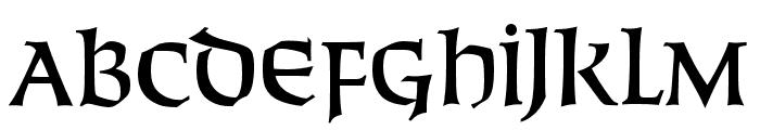 SolemnisCapsOpti Font LOWERCASE
