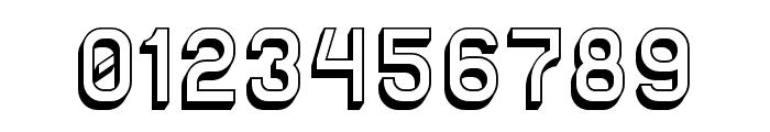 Solid Sans 3D Font OTHER CHARS