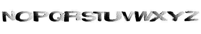 SolidWaste Font UPPERCASE