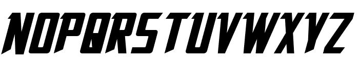 Solitarium Italic Font UPPERCASE