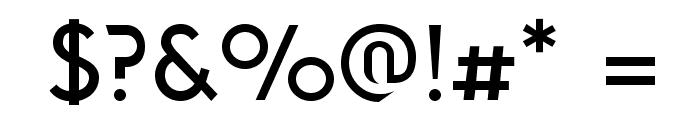 Solothurn-Medium Font OTHER CHARS