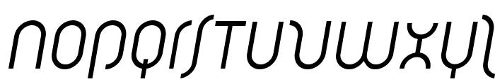 Solothurn-Oblique Font UPPERCASE