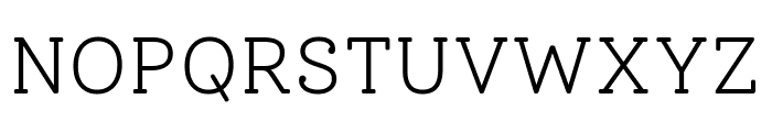 Solway Light Font UPPERCASE