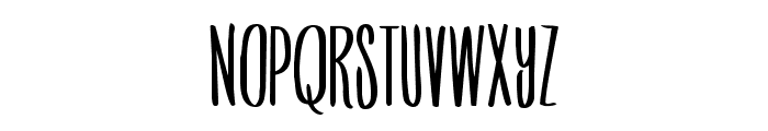 SombodyToLove-Regular Font LOWERCASE