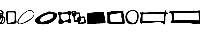 Some Boxes Font UPPERCASE