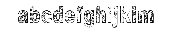 Some Distant Memory Font LOWERCASE