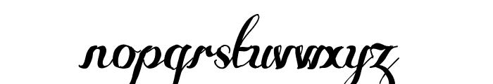 Some Weatz Swashes Font LOWERCASE