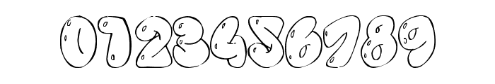Some bubbles Font OTHER CHARS