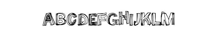 SomeLines Font UPPERCASE