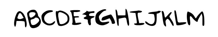 Some_Animal Font UPPERCASE