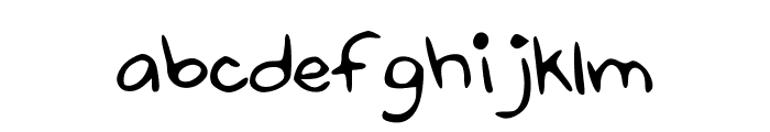 Some_Animal Font LOWERCASE
