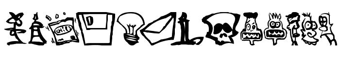 Somepics Font LOWERCASE