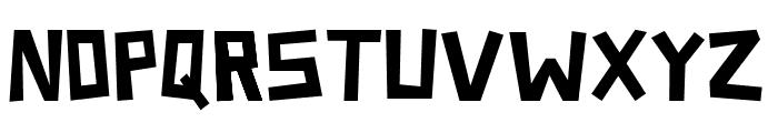 Somerset Barnyard Font UPPERCASE