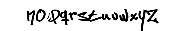 Some's Style Bold Font LOWERCASE