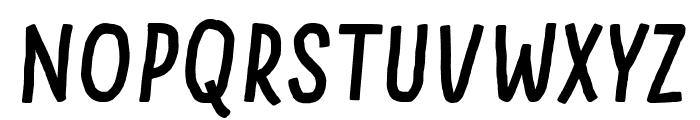 Something Looks Natural Italic Font LOWERCASE