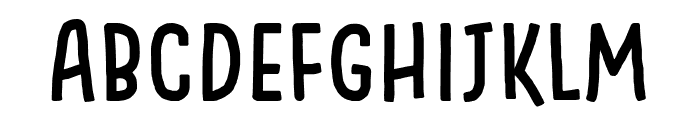 Something Looks Natural Font LOWERCASE
