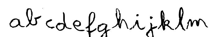 Something Olde Font LOWERCASE