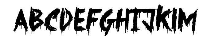Something Strange Font UPPERCASE