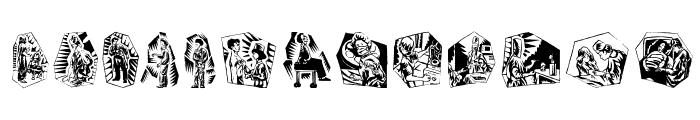 SometimesDocCanHelp Font LOWERCASE