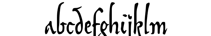 SonOfTime Font LOWERCASE