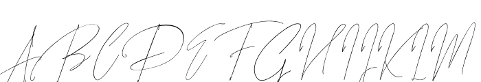 Songstar Free Font UPPERCASE