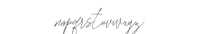 Songstar Free Font LOWERCASE
