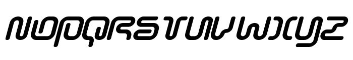 Sonic-Empire-Italic Font UPPERCASE