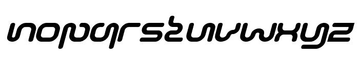 Sonic-Empire-Italic Font LOWERCASE