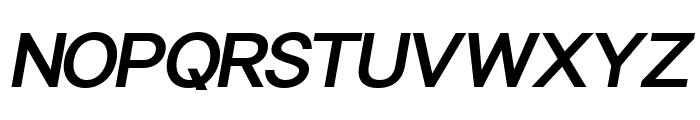 Sonika PERSONAL USE Bold Italic Font UPPERCASE