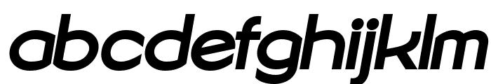 Sonika PERSONAL USE Bold Italic Font LOWERCASE