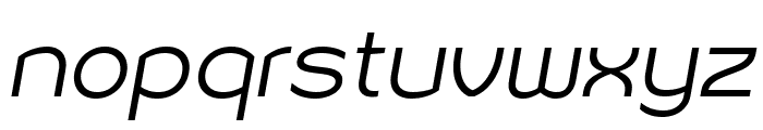 Sonika PERSONAL USE Light Italic Font LOWERCASE