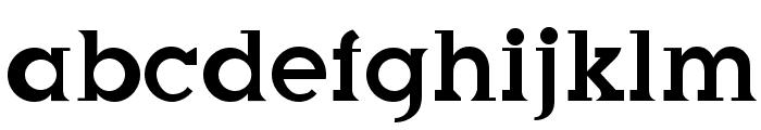 SonnCar Font LOWERCASE