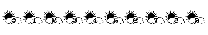 Sonnenschein Font OTHER CHARS