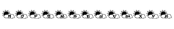 Sonnenschein Font LOWERCASE