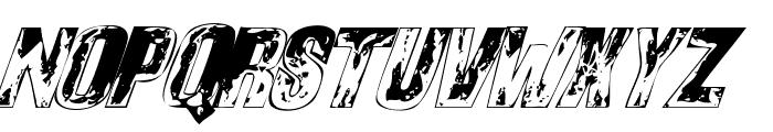 Sons of Noah Italic Font UPPERCASE