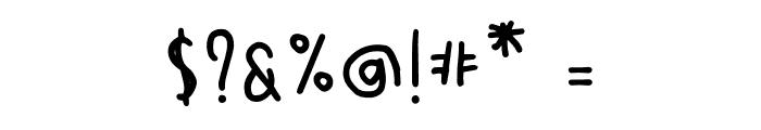 SontOyoloDemoRegular Font OTHER CHARS