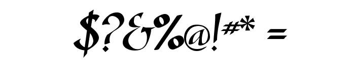SonyannaScriptSSi Regular Font OTHER CHARS