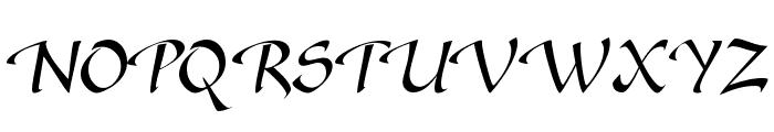 SonyannaScriptSSi Regular Font UPPERCASE