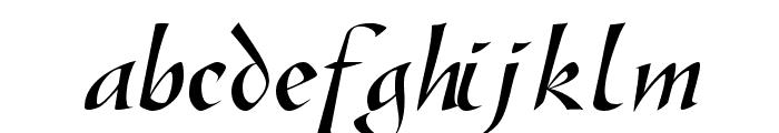 SonyannaScriptSSi Regular Font LOWERCASE
