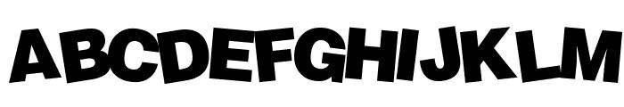 Soopafresh Font UPPERCASE
