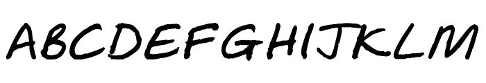 Soozle Font UPPERCASE