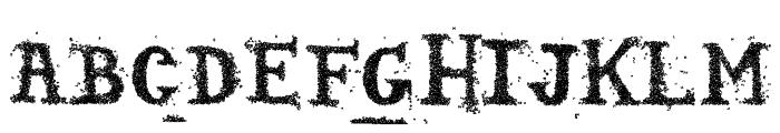 Sopadeletras-Regular Font UPPERCASE