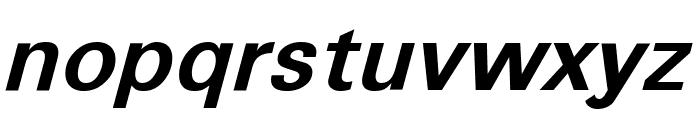 Sophia Nubian Bold Italic Font LOWERCASE