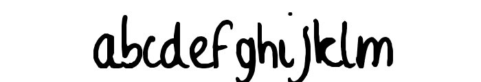 Sophie Font LOWERCASE