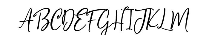Sophistica1 Font UPPERCASE